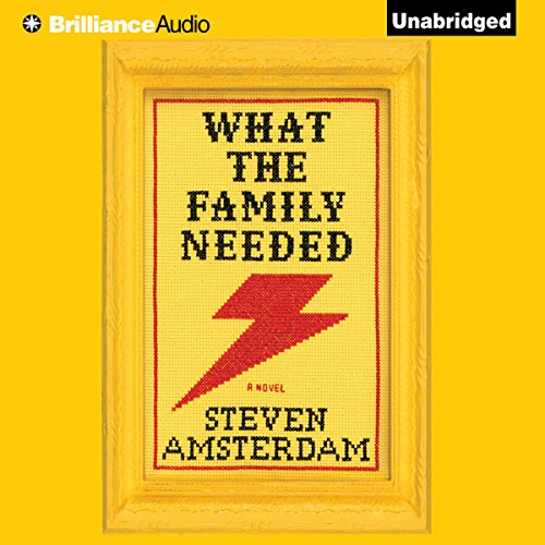 What the Family Needed audiobook cover art