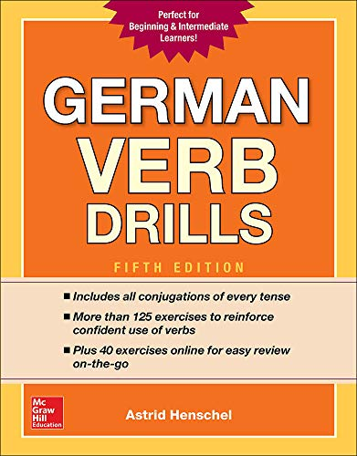 GERMAN VERB DRILLS 5TH /E 5/E