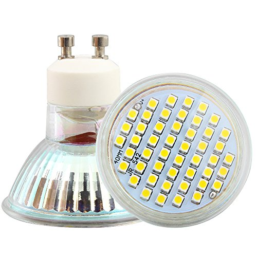 1x Leuchtmittel Spot LED GU102,5W 48SMD 2835Lampen LED AC220V 260LM 3200K Warmweiß 120° Abstrahlwinkel