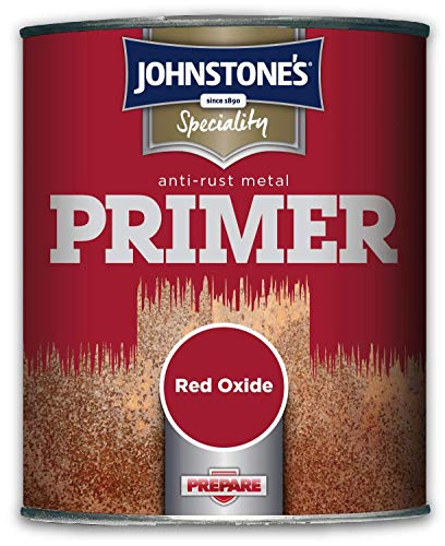 Johnstone's 308415 Speciality Anti-Rust Metal Primer, Red Oxide, 750 ml
