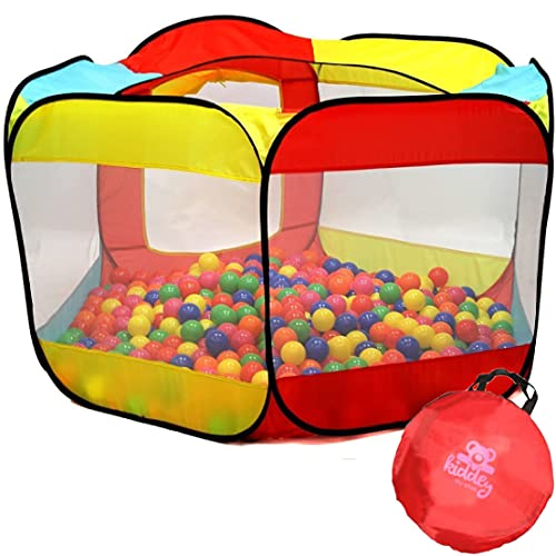 Kiddey Ball Pit Play Tent for Kids - 6-Sided Ball Pit for Kids...