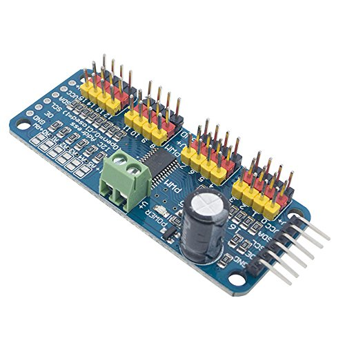PCA9685 16-Channel 12-bit PWM Servo Driver for Arduino Raspberry Pi IIC Interface Servo Shield