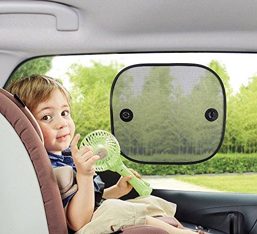 BabyDan Autocollant pour fenêtre Pare-soleil, Lot de 2