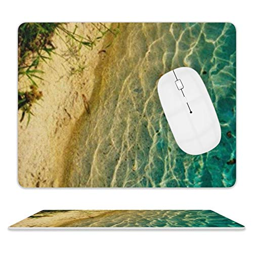 Beautiful Seaside Scenery - Alfombrilla de ratón (cuero, 25 x 20 x 2 cm)