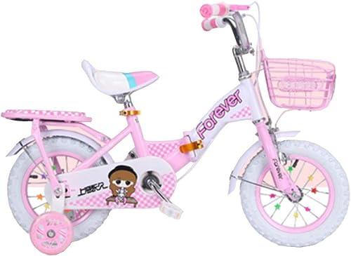 mejor vendido Axdwfd Infantiles Bicicletas Bicicleta para Niños y niñas niñas niñas con Ruedas de Entrenamiento, para Bicicleta de Crucero de 12 14 16 18 18 Pulgadas para Niños de 2 a 9 años  primera reputación de los clientes primero