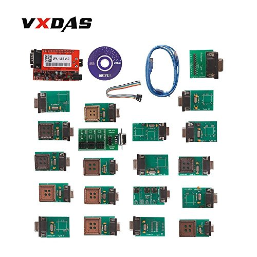 VXDAS UPA USB UPA USB Programmer UPA-USB Full Set with Adapters V1.3 ECU Programmer ECU Scanner ECU Diagnostic Tool