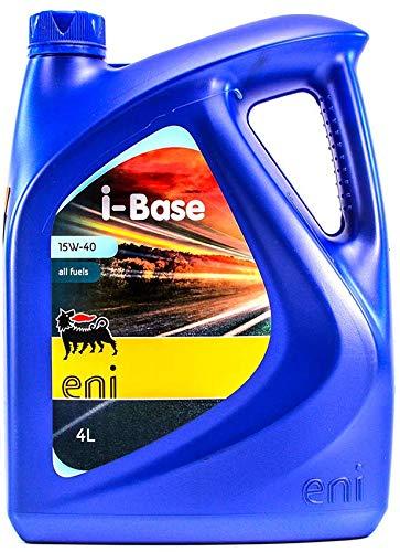 ENI 7429 Olio per Auto I-Base 15W40 Litri 4