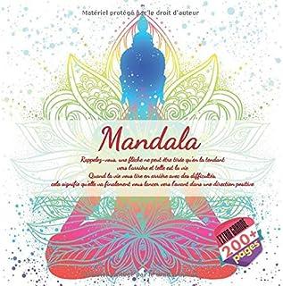 Mandala - Rappelez-vous, une flèche ne peut être tirée qu'en la tendant vers l'arrière et telle est la vie. Quand la vie vous tire en arrière avec des difficultés, cela signifie qu'elle va finalement vous lancer vers l'avant dans une direction positive.v