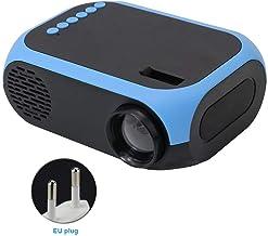Mini proyector, proyector de video portátil, pantalla Full HD 1080P, proyector de cine en casa, proyector multimedia con múltiples puertos, para reproducir video, series de TV