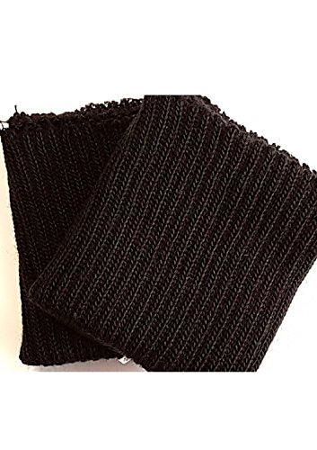 Weyland Ärmelbündchen Strickbündchen 1 Paar schwarz 100% Acryl