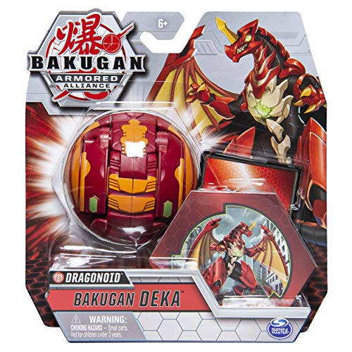 Bakugan Deka, Dragonoid, Armored Alliance Jumbo Collectible Transforming Figure, for Ages 6 and Up