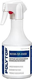 Polytop motor-top afwerking verzegeling onderhoud en bescherming motorwas motorlak conservering van motorruimtes 500 ml