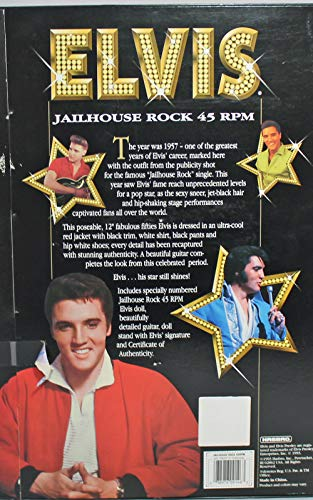 The Sun Never Sets on a Legend 1993 Elvis Doll, Jailhouse Rock Doll Hasbro ( Hasbro ) 12 inch doll doll doll figure ( parallel import )