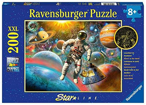 Ravensburger Kinderpuzzle 13612 - Ausflug ins All - 200 Teile