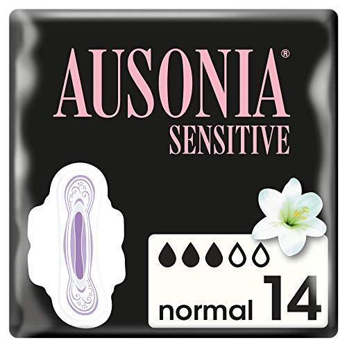 Ausonia Sensitive Normal Compresas - 14 Unidades