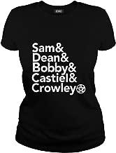 Sam Dean Bobby Castiel Crowley T-Shirt