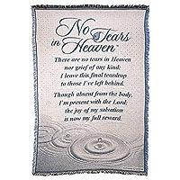 ディクソンズ天国に涙なし記念46 x 68すべてコットンタペストリー投げ毛布