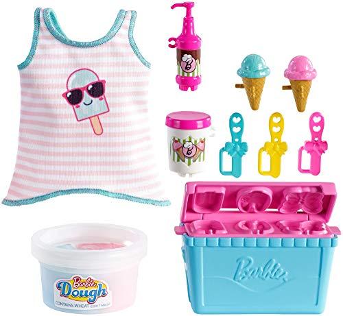 Amazon.es: Barbie Pack de Accesorio Pasteleria y Cocina, Maquina para Hacer Helado (Mattel GHK40): Juguetes y juegos