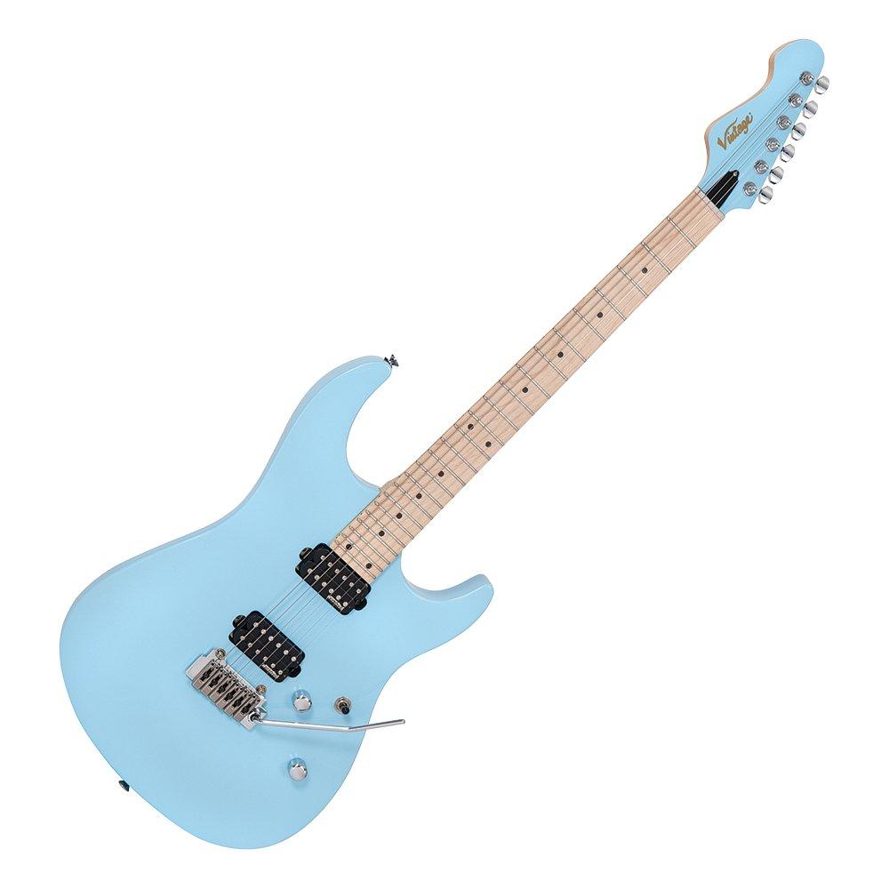 Cheap Vintage Electric Solid Body Guitar - Laguna Beach Blue Black Friday & Cyber Monday 2019