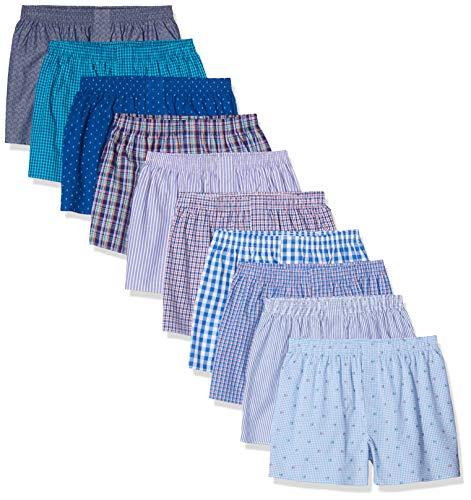 CityLife, 10er Pack Boxershorts, Mehrfarbig (Classic Multicolour 4 C-10-4), XXXX-Large (Herstellergröße: 4XL)