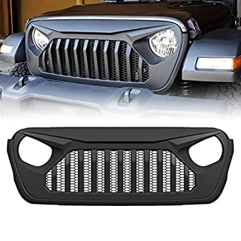 Best jeep front grill cover Reviews