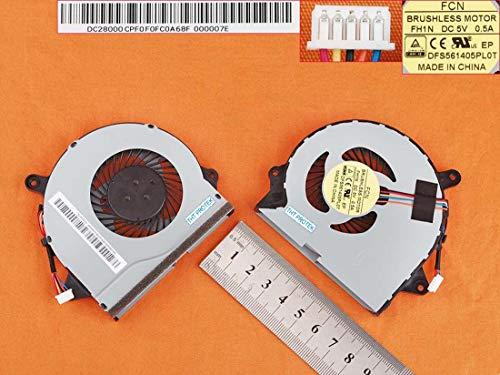 Kompatibel für Lenovo Ideapad 300-17ISK, 300-15BR Lüfter Kühler Fan Cooler
