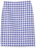 Anne Klein - Falda de tweed para mujer -  Morado -  36