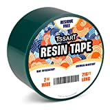 TSSART Resin Tape for Epoxy Resin Molding - Thermal Silicone Adhesive Tape, Oxidation and High Temperature Resistance Easy Peeling, Epoxy Release Tape for River Tables - 2 inch Wide 216FT Long