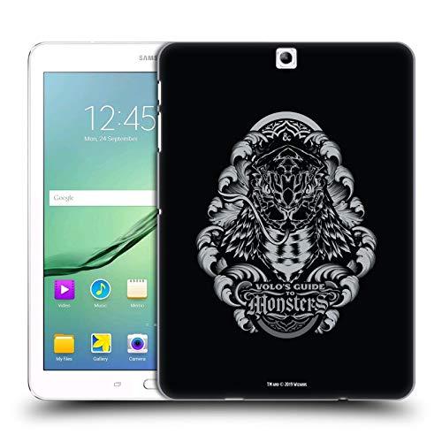 Head Case Designs Offizielle Dungeons & Dragons Yuan-ti Hydro74 Kunstwerk Harte Rueckseiten Huelle kompatibel mit Samsung Galaxy Tab S2 9.7