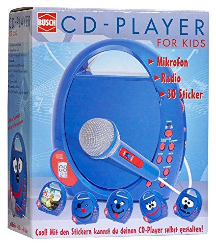 Busch 2738 - CD-Player für Kinder, Verschiedene Spielwaren