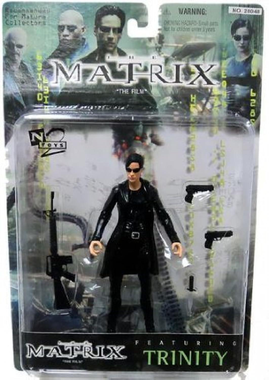 garantía de crédito 1999 Warner Brojohers Juguetes The Matrix Acción Figura - - - Trinity with Coat by Warner Bros Juguete  Ahorre 35% - 70% de descuento
