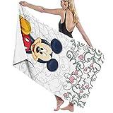 Mickey Mouse Set Toalla de baño de secado rápido, elegante para hombres y mujeres de natación Yoga Bikini Deportes Viajes Camping Baños Toallas