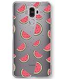 AIsoar ® Coque Huawei Mate 9 Case Transparente TPU Ultra Mince Antichoc Housse arrière Résistant de Protection Silicone aux Rayures Couverture pour Huawei Mate 9 (Pastèque)