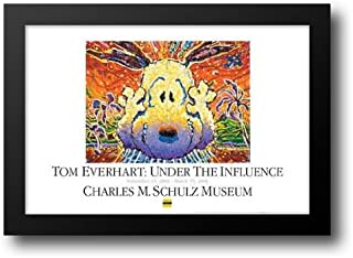 Nobody Barks in La-Museum Edition 40x28 Framed Art Print by Everhart, Tom
