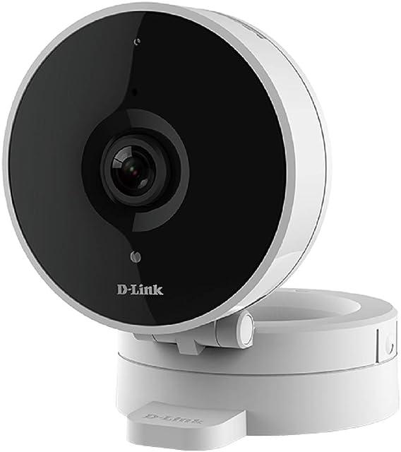 D-Link Dcs-8010Lh – Cámara De Vigilancia/Seguridad WiFi con Acceso Desde Móviles Visión 120° Compatible Amazon Alexa Y Google Home Grabación En La Nube Y En El Móvil HD 720P MicroSD