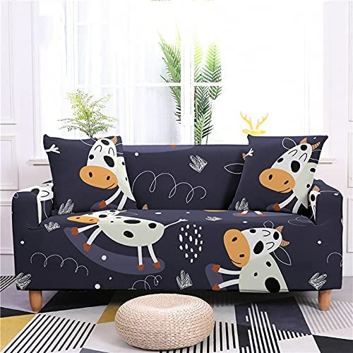 AMZAO High Stretch Sofa Covers 1 2 Seater Cartoon Dinosaur 3 Financial Ranking TOP1 sales sale 4 F