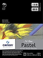 Mi-Teintes Pastel Pad, Gray Tones, 9X12 Fold Over by Canson