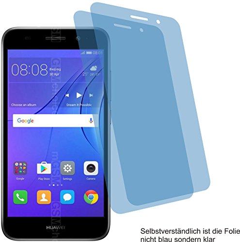 4ProTec I 2X ANTIREFLEX matt Schutzfolie für Huawei Y3 2018 Bildschirmschutzfolie Displayschutzfolie Schutzhülle Bildschirmschutz Bildschirmfolie Folie