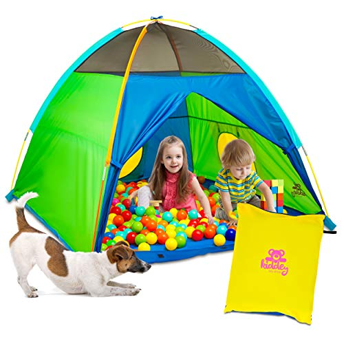 Kiddey Kids Play Tent & Playhouse – Indoor/Outdoor Camping Tent for Boys and Girls – Promotes...
