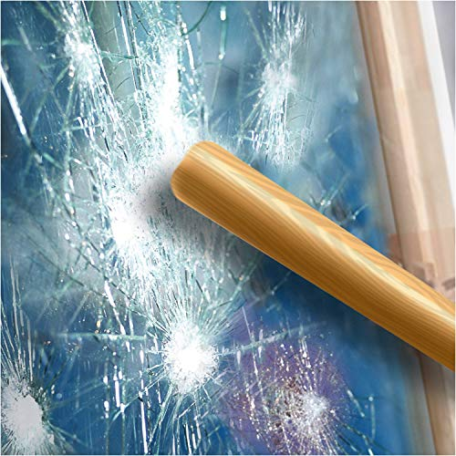 BDF S4MC Window Film Security and Safety Clear 4 Mil (36in X 12ft)