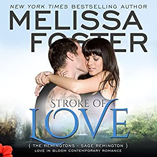 Stroke of Love audiobook cover art