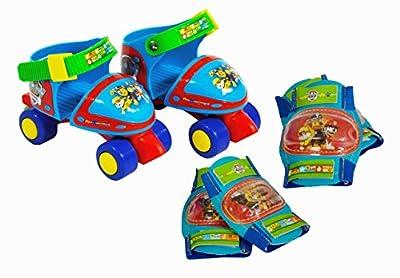 PAW PATROL - Caja con Roller 4 Ruedas, Talla 24-29 y Protecciones (Saica Toys 7474) por Saica Toys