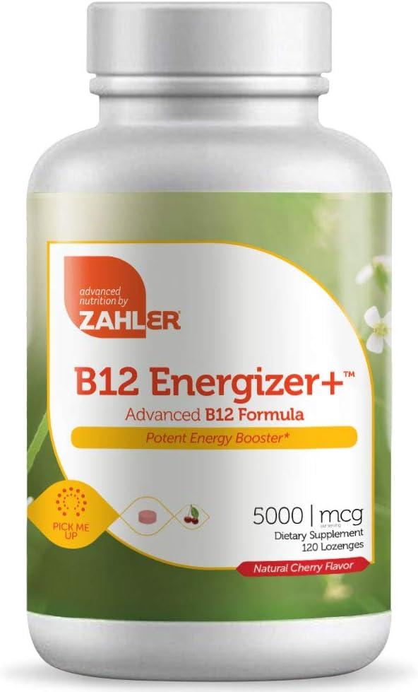 Zahler B12 Award-winning store Energizer Popular brand in the world Potent Vitamin Booster Energy Methylc