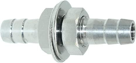 3 8 stainless steel bulkhead fitting