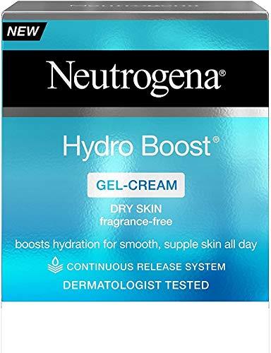 Neutrogena Hydro Boost Gel Cream Moisturiser with Hyaluronic Acid & Trehalose - For dry skin - 50 ml