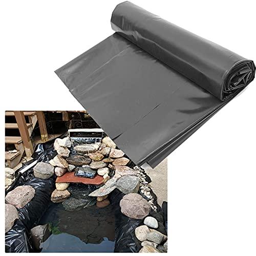 SMYH Teichfolien Zuschnitt 1x2m 2x2m 3x4m 4x5m 5x7m 5x10m 7x7m 8x10m, wasserdichte Gartenpoolmembran Für Schwimmteich Wasserfälle Teich Teichbau, UV-Schutz