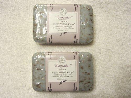 Trader Joes Lavender Triple Milled Soap (2 Pack)