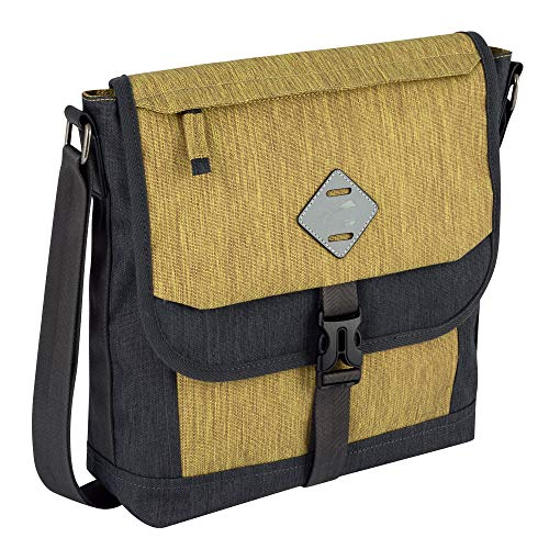 camel active, Satipo, Umhängetaschen Herren, Messenger Bags medium, 294 602 93, Gelb, 34x13x32 cm