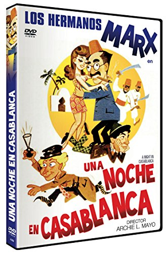 Una Noche en Casablanca DVD 1946 A Night in Casablanca