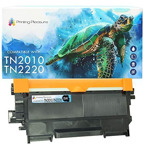Printing Pleasure TN2220 TN2010 Toner kompatibel für TN-2220 TN-2010 Brother HL-2130 HL-2132 HL-2135 HL-2220 HL-2230 HL-2240 2240D 2250DN 2270DW DCP-7055 7055W 7060D 7065DN 7070DW MFC-7460DN 7860DW